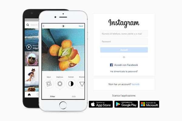 registrazione instagram