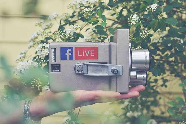 videocamera diretta facebook